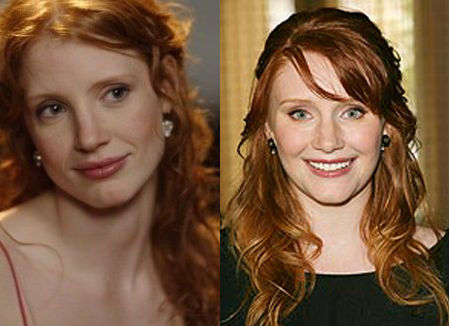 Bryce Dallas Howard Jessica Chastain The Help