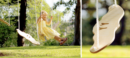 left hand make, soar swing, wooden swing, handmade swing