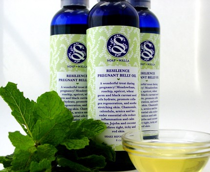 soapwalla, pregnancy belly oil, eco mom, anti-stretch mark oil, organic pregnancy belly oil