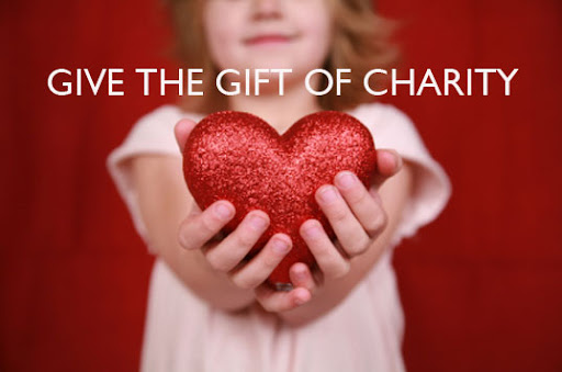 donate to charity, eco-friendly gifts, green gifts, charity gifts, give to charity for the holidays, donate to charity as a holiday gift, best charities to donate to for the holidays, st. judes research hospital, ronald mcdonald house, trees for change, green families, sarver heart center