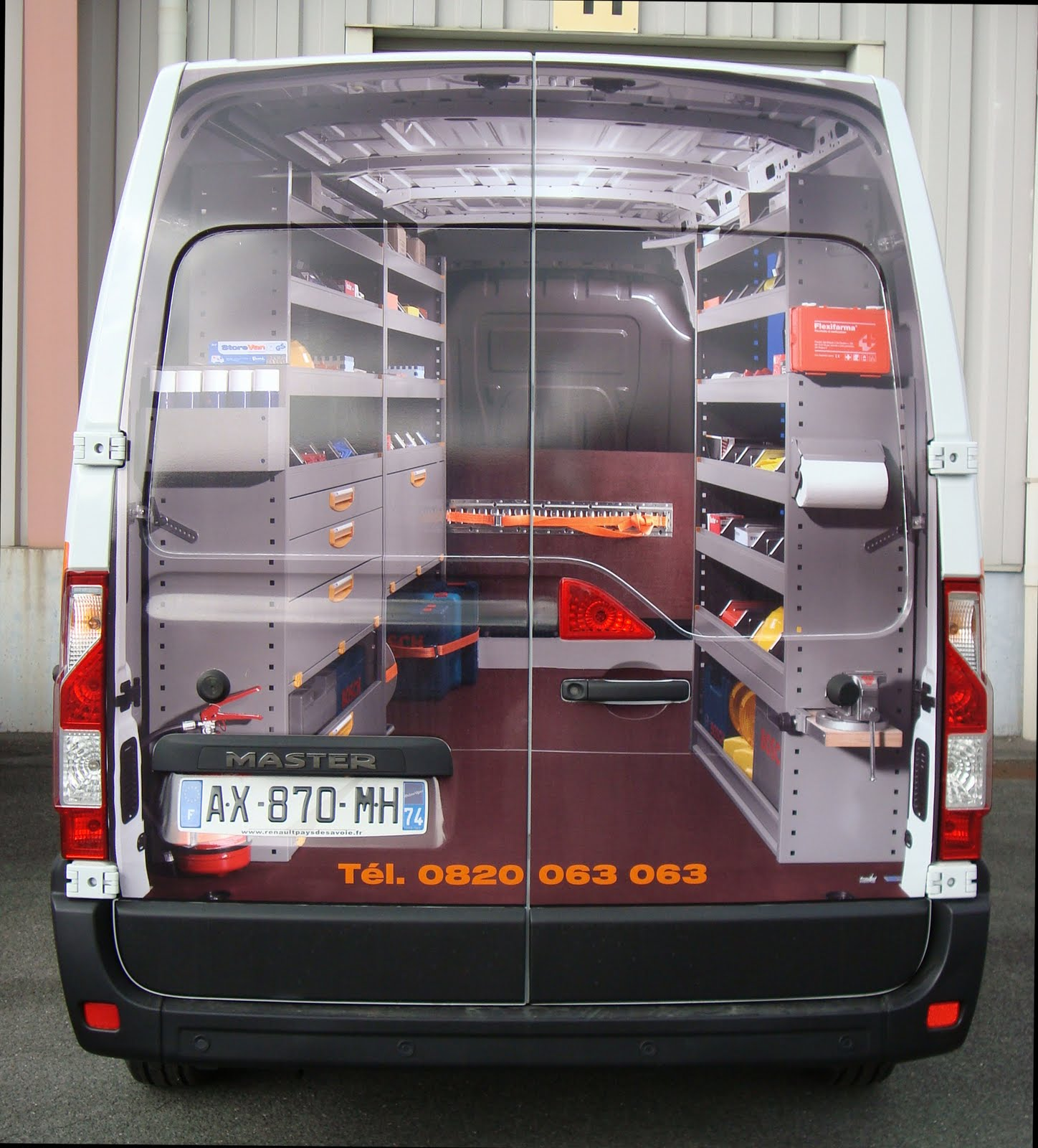 blog du groupe setam nouveau renault master store van. Black Bedroom Furniture Sets. Home Design Ideas