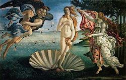 O Nascimento de Vênus - Sandro Botticelli