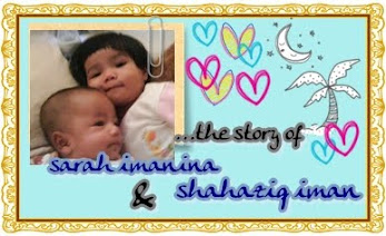 My Angels ~ Sarah Imanina & Shahaziq Iman