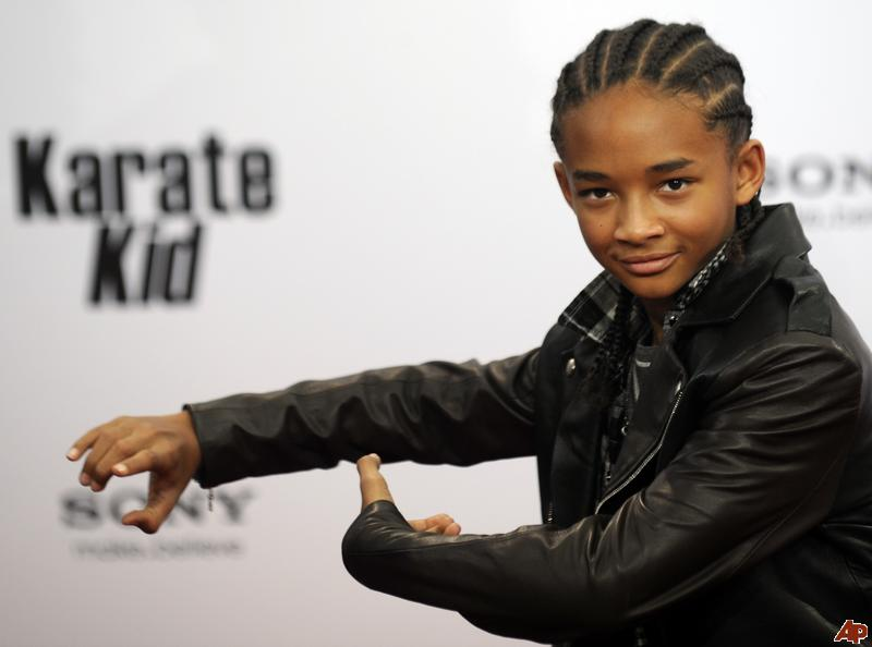 will smith son jaden. his son Jaden Smith as his