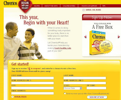 Www.beginwithcheerios.com beginwithcheerios Sweepstakes