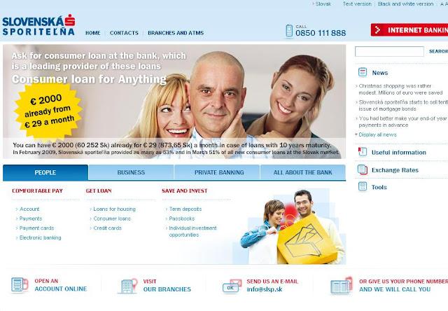 Www.slsp.sk Internetbanking, SLSP Online Banking