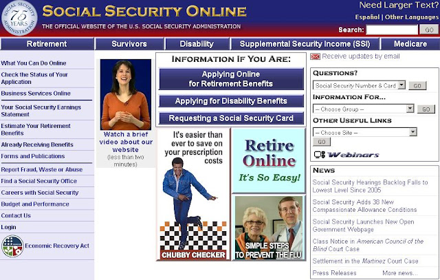 Socialsecurity.gov/MyStatement - Social Security Statement Online