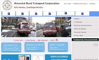 Himachal Roadways Volvo Booking goes Online with Hrtc.gov.in