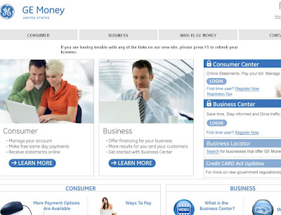 www.GEOnlineAccount.com - GE Online Account at GEMoney.com