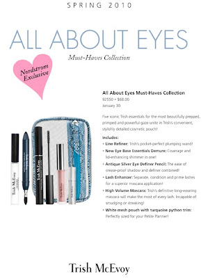Trish McEvoy, Spring, All About Eyes, 2010, Nordstrom exclusive