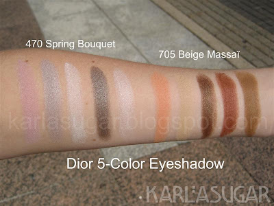 Dior, Spring Bouquet, Beige Massai, swatches