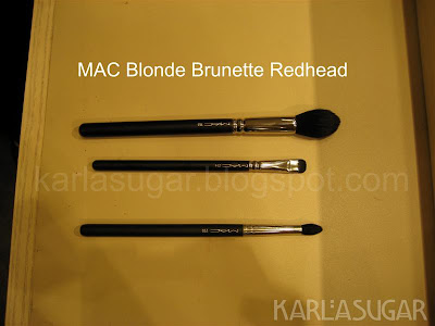MAC, Blonde, Brunette, Redhead, BBR, brushes, 165, 214, 226