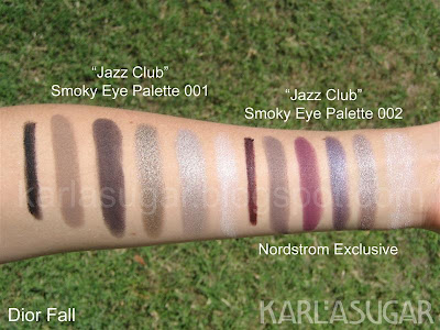 Dior, fall, Jazz Club, Smoky, Smokey, palette, Nordstrom, swatches