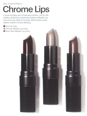 Bobbi Brown, holiday, Chrome, lipstick