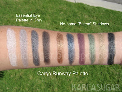 Cargo, Runway, palette, essential, eyeshadow