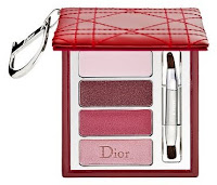 Dior, holiday, 2009, Cristal Boreale, lip quad, Cannage, red