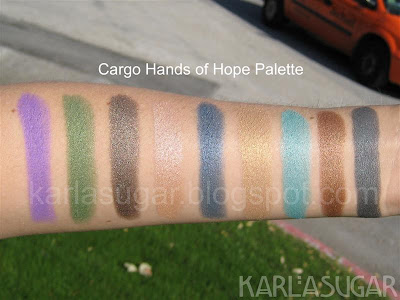 Cargo, Hands of Hope, swatches