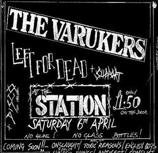 The Varukers Live In Leeds 1984