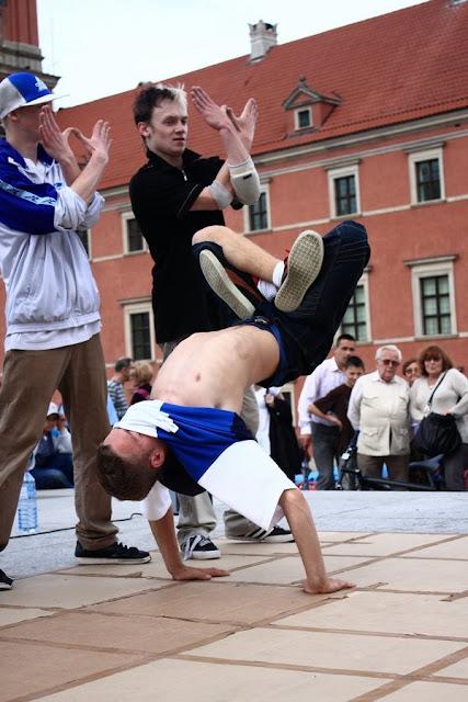 Breakdance - Warszawa, Plac Zamkowy
