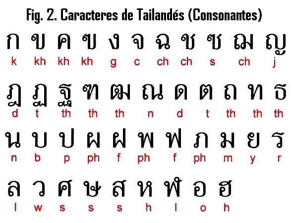 terminologia tailandesa numeros y otros