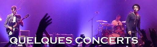 Quelques concerts