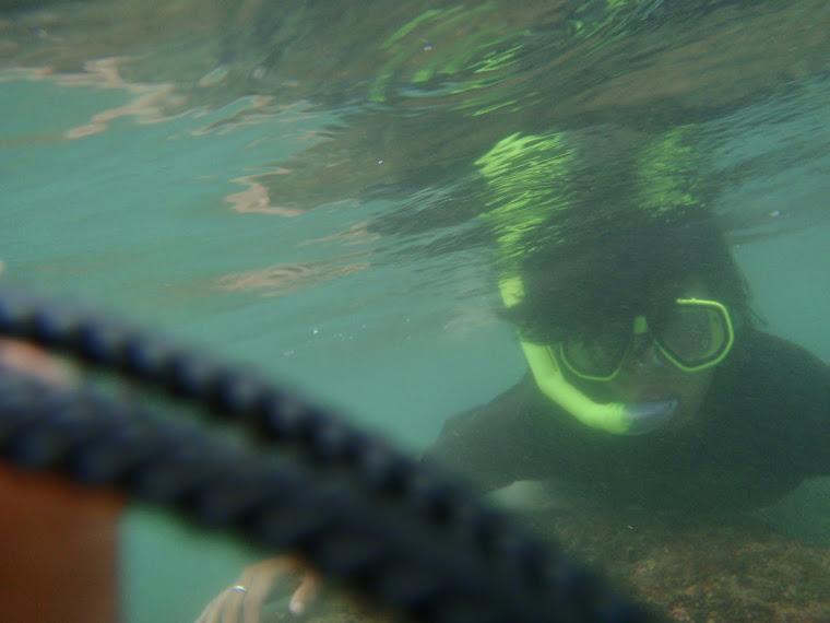 snorkling in beach sundak,wonosari,jogjakarta