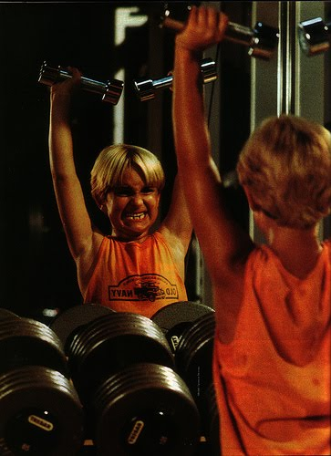 Vintage Child Abuse In The 80s Kids Knew Importance Of Muscle