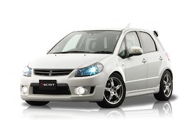 Scrit Suzuki SX4 body kit - Subcompact Culture