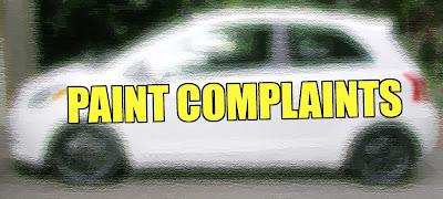 Paint Complaints