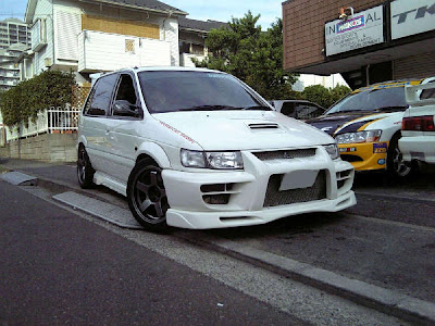 Mitsubishi RVR Hyper Sports Gear