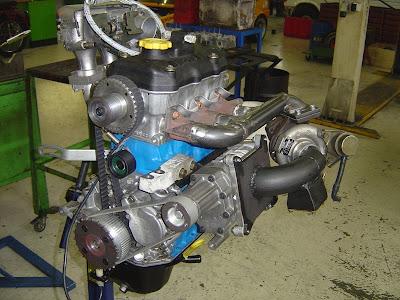 Twincharged Subaru Justy