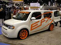 SEMA 2009 EFX Nissan Cube - Subcompact Culture