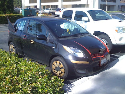 Batmobile Yaris