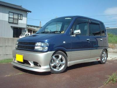 Suzuki Wagon R Chevy Astro Van - Subcompact Culture