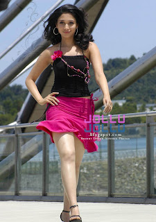 tamanna bhatia with her crystal clear legs and thighs