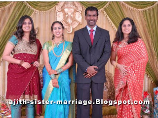 ajith kumar sister marriage photo album