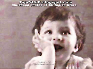 Cute little aishwarya rai