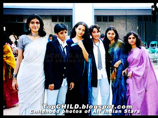Thrisha krishnan  with her college friends