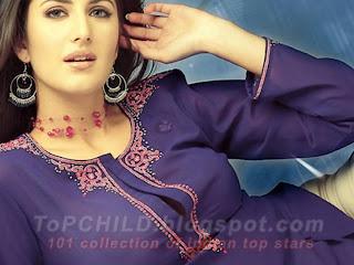 Katrina kaif  in a violet jacket