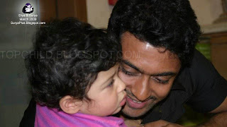 Large and clear photos of diya . daughter of surya jyothika.