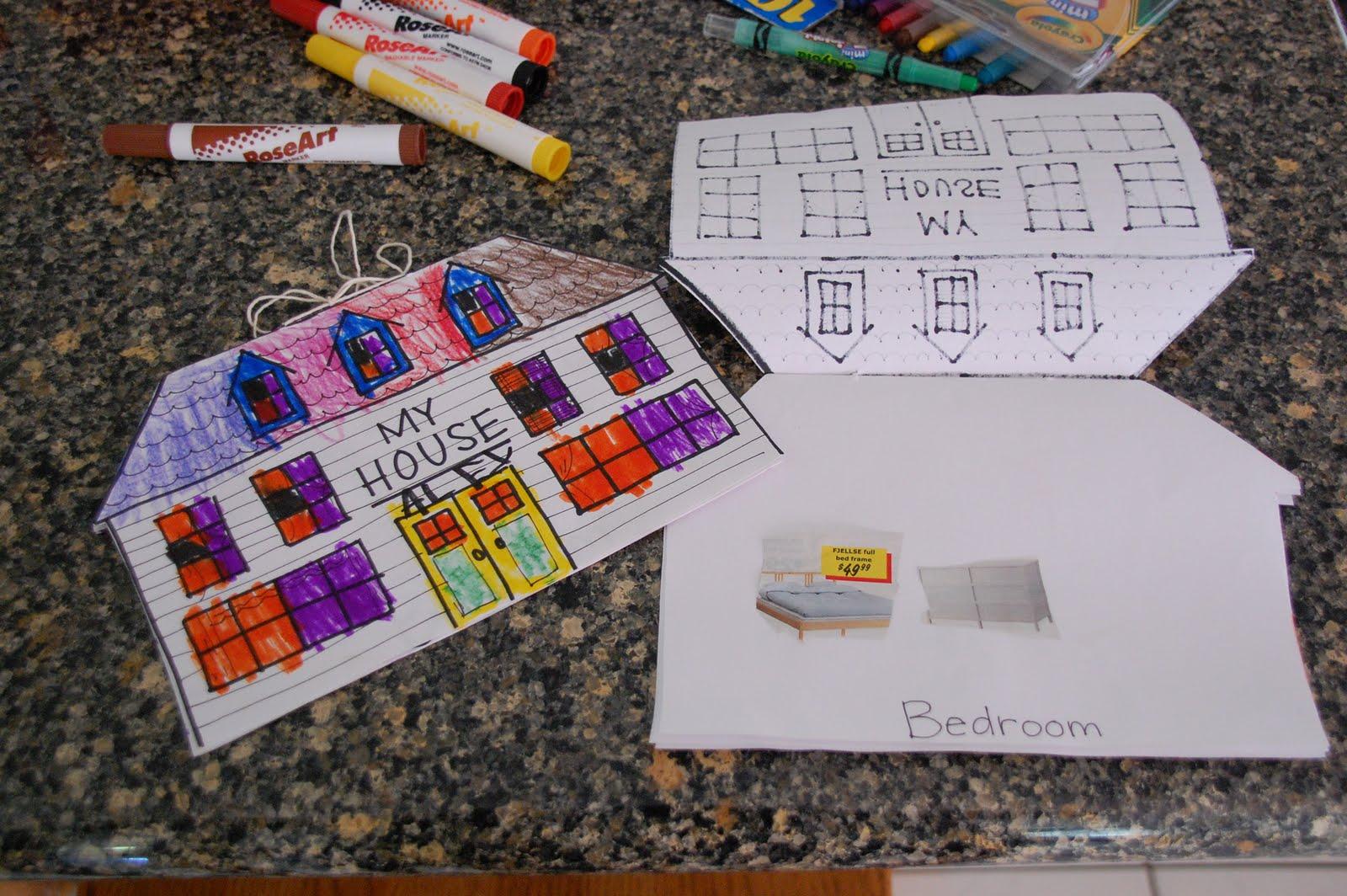 Building a House Preschool Theme