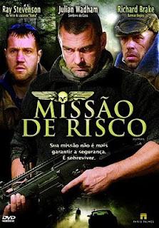 Filme Poster Missão de Risco DVDRip RMVB Dublado