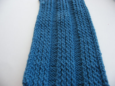 Preview This Free Knitting Pattern Hunter Blue Manly Scarf Knitted Scarves For Men Free Patterns