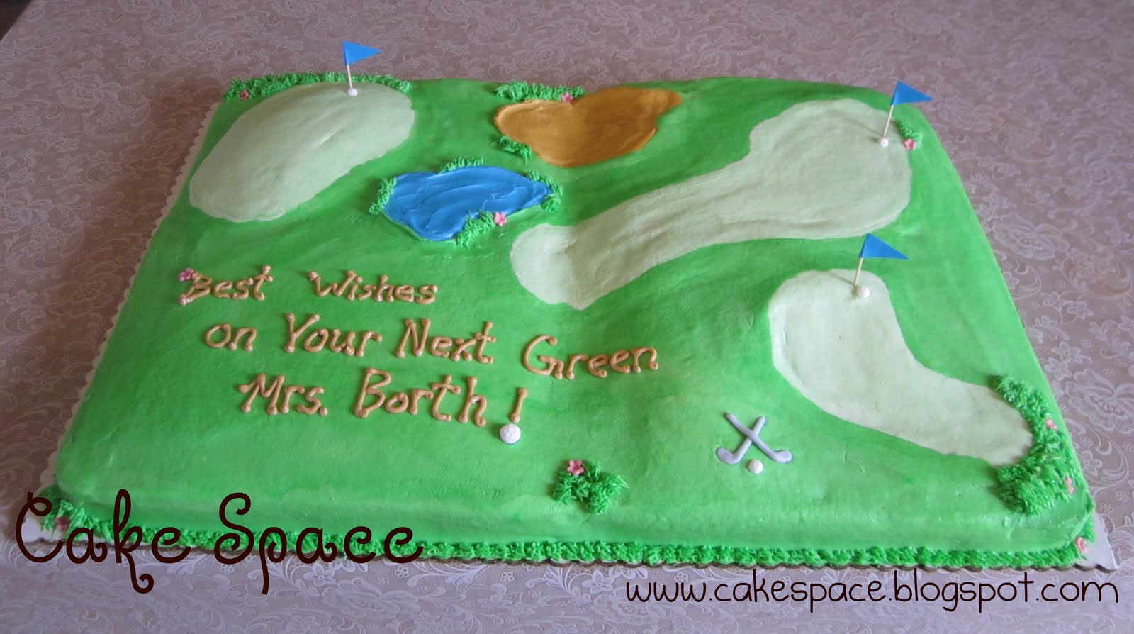 Retirement Sheet Cake Ideas