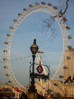 Travelling in London - Eye