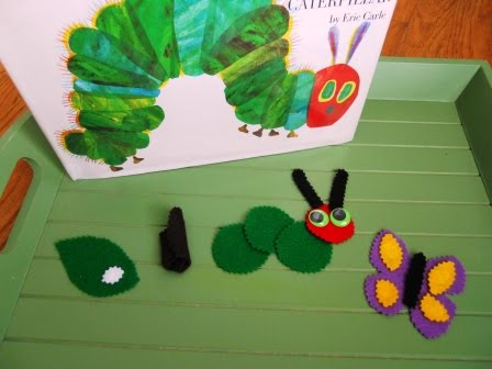 Caterpillar-Butterfly Tray (Photo from Little Wonders' Days)