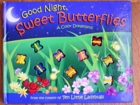 art project for Good Night Sweet Butterflies