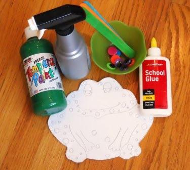 preschool frog craft