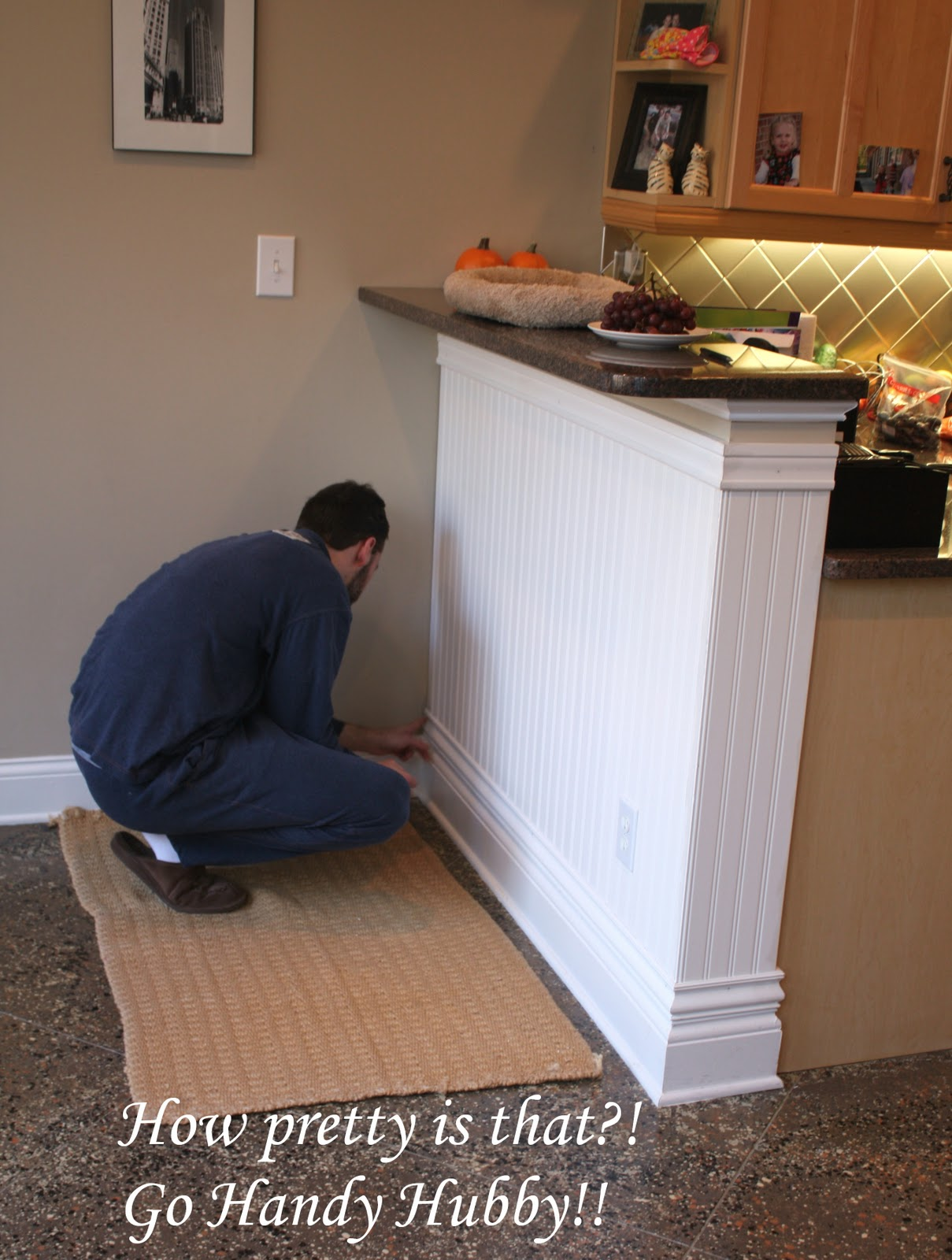 A Quick Wainscoting Project By Handyhubby