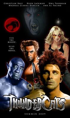 Thunder Cats Movies on Cinema Homens E Pipoca  Thundercats   O Filme